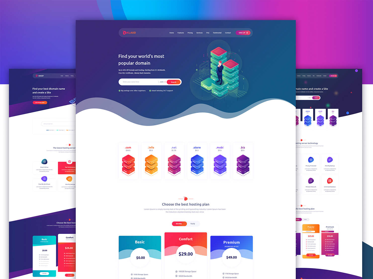 Klaud - HTML Template